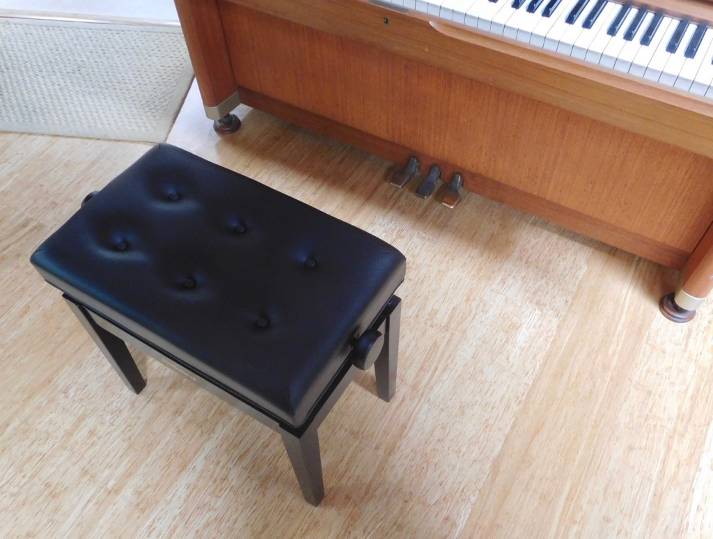 small piano bench