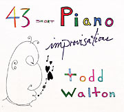 43 short piano improvisations