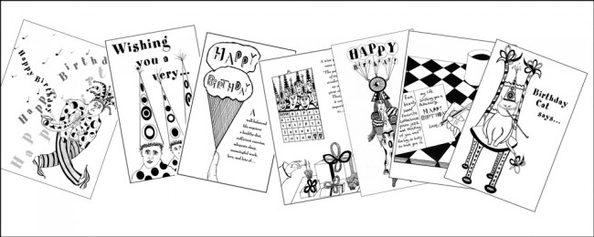 birthdaycards | Under the Table Books