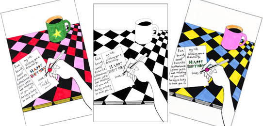 coloredcards | Under the Table Books