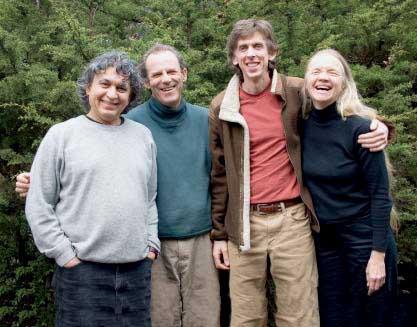 (L to R) Amunka Davila, Todd Walton, Peter Temple, Marcia Sloane